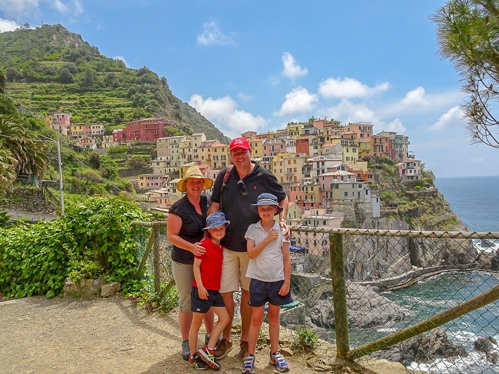 Our family trip Cinque Terre Italy