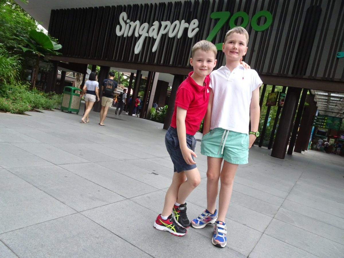 Singapore stopover family travel