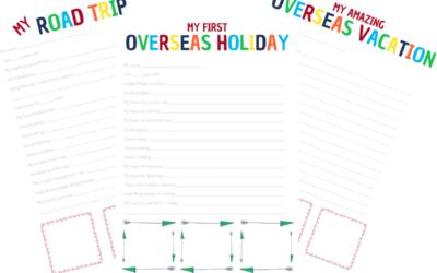 Claim your Kids Travel Journal Printable today