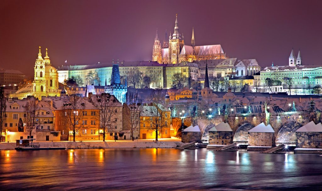 Prague best places in europe for christmas