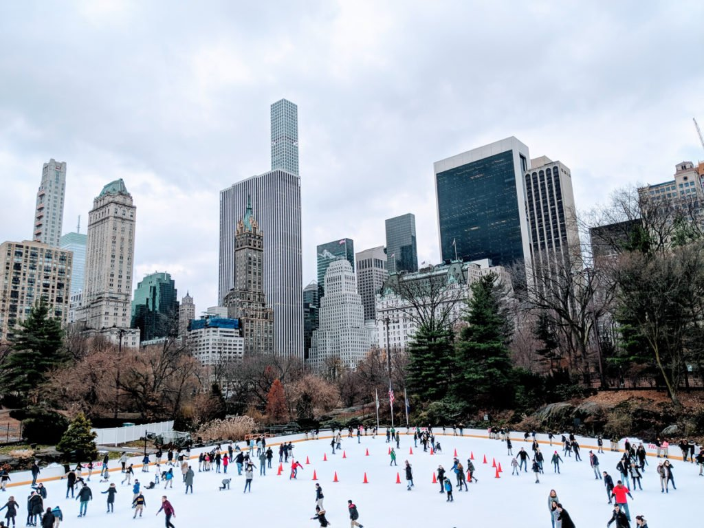 New York Christmas with kids