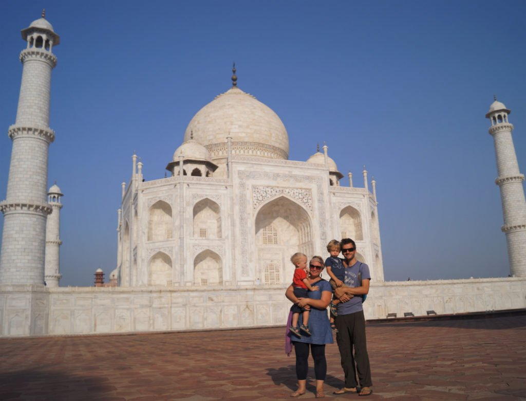 India Family travel series - adventure travel with kids