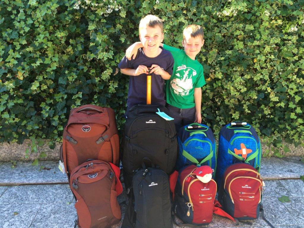 Packing tips travel with kids