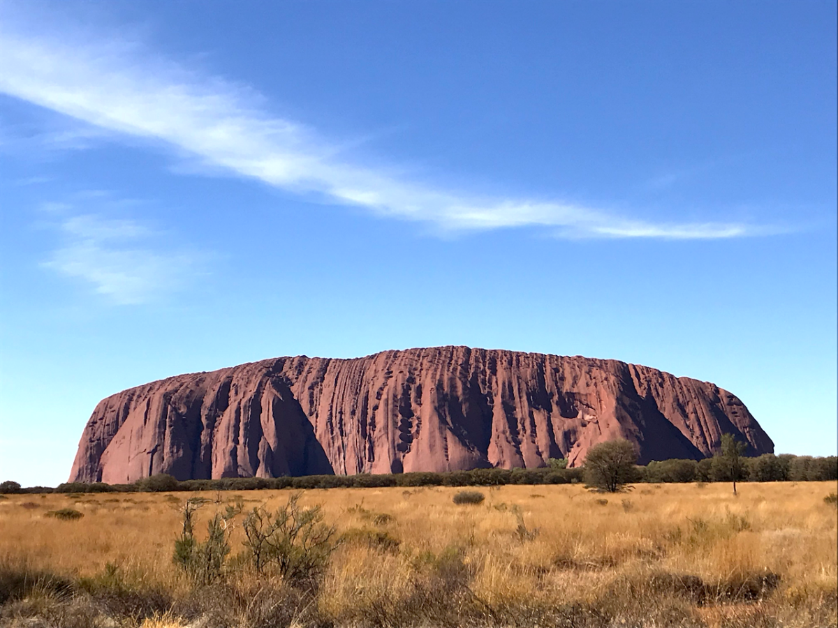 Australian bucket list destinations Uluru