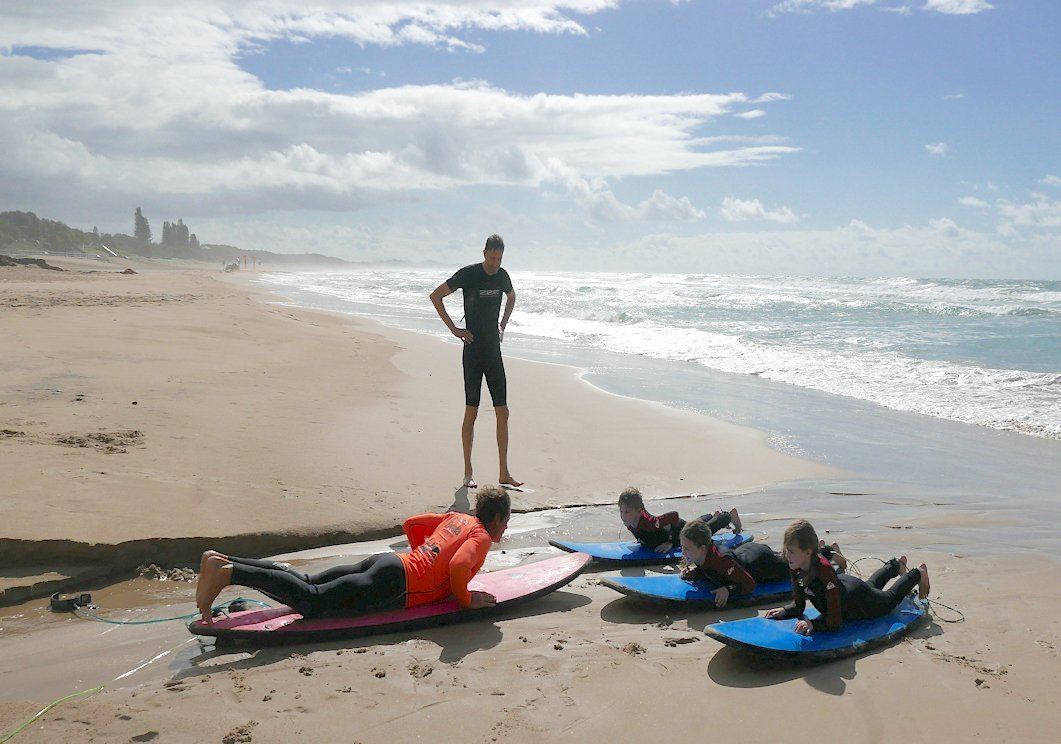 Queensland bucket list learn to surf